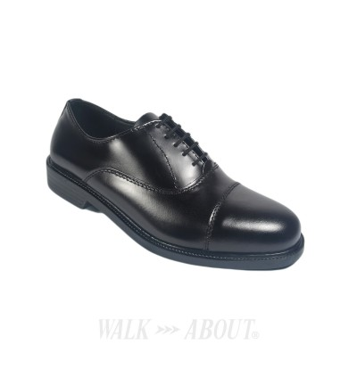 Walk About® Lace-up Shoes with Genuine Smooth Cow Leather (386 Black 06)