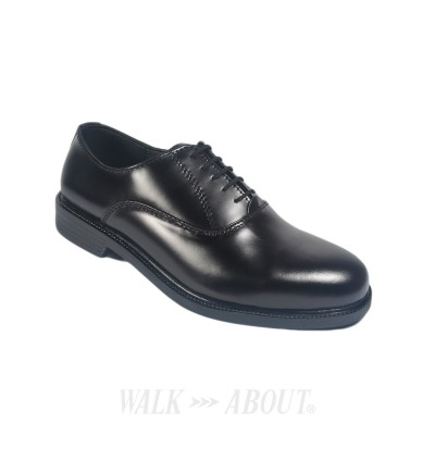 Walk About® Lace-up Shoes with Genuine Smooth Cow Leather (3815 Black 06)