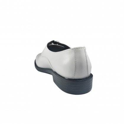 Walk About® Lace-up Shoes with White Genuine Soft Cow Leather (3815 White 11)