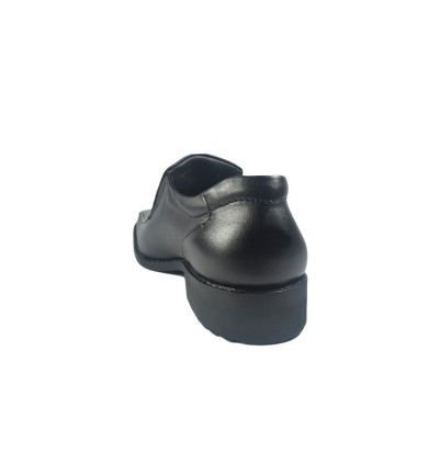 Walk About® Slip-on Shoes with Genuine Soft Cow Leather (921 538 Black 18)