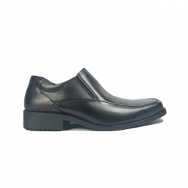 Walk About® Slip-on Shoes with Genuine Soft Cow Leather (921 539 Black 18)