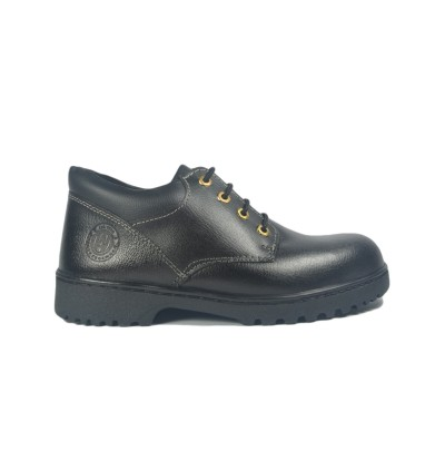 Walk About® Lace-up Safety shoes with Buffalo leather (6911 Black 039 SB P HRO)