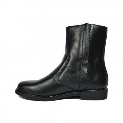 Walk About® Men Cossack Boots with Soft Cow Leather (380 Black 18)