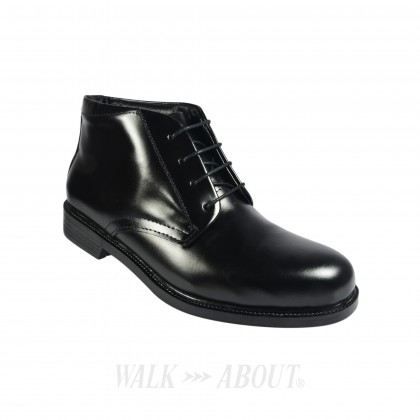 Walk About® Lace-up Full Leather Boots (3825 Black 06)